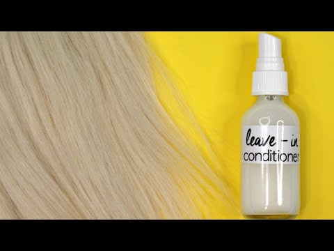 Homemade Leave - In Hair Conditioner