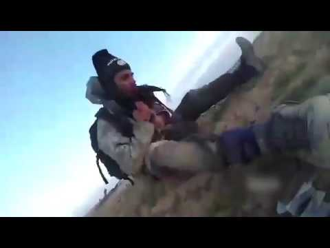 ISIS Combatant Dies On Camera