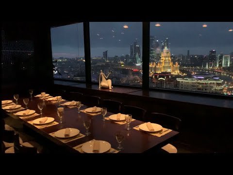 """Калина Бар"" - видеообзор ресторана с панорамным видом на Москву"