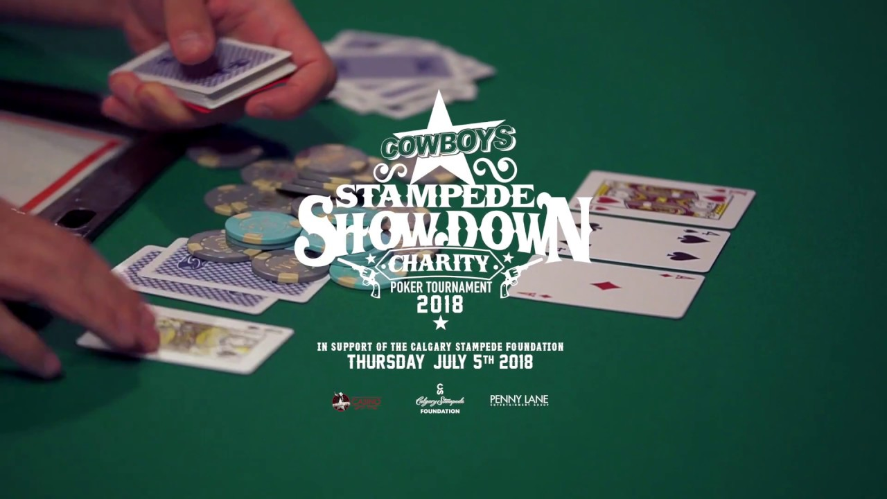 Stampede casino poker tournaments you play the card game casino