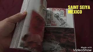 Hojeando la edición definitiva de saint seiya de editorial planeta