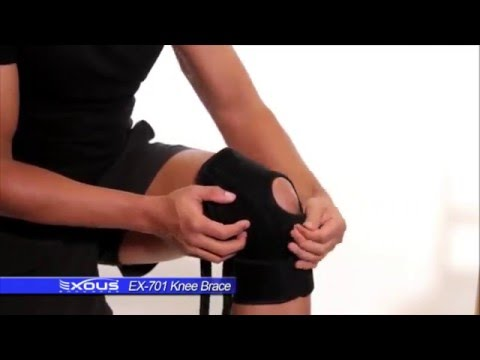 985a63ae13 How to fit the EX-701 Knee Brace From EXOUS Bodygear - YouTube