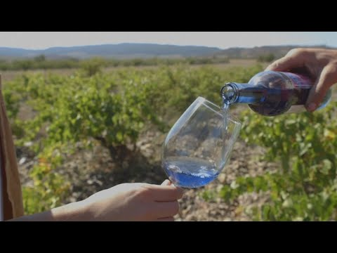 Spanish Drink Makers Innovate With 'Blue Wine'