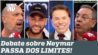 """""""ACORDA! O Neymar foi APELAR no Silvio Santos!"""" Debate PASSA DOS LIMITES!"""