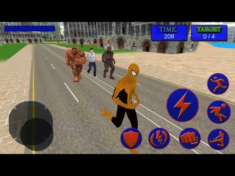 Spider Super Hero City Rescue Battle From Monster Crime | Android GamePlay |