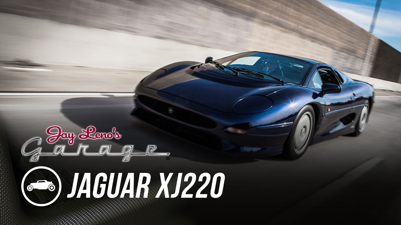1993 Jaguar Xj220 Jay Leno S Garage Youtube
