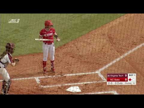 #25 Virginia Tech Vs  NC State Mar 15 | NCAA Softball 2019