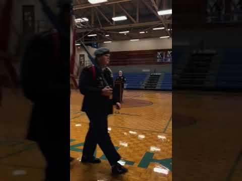 Thomas Walker High school Veteran's day program 2019