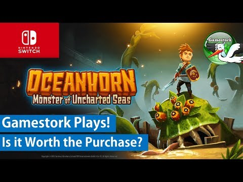 Gamestork Plays Oceanhorn Monster of Uncharted Seas on Nintendo Switch!