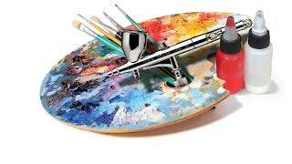 Уроки АЭРОГРАФИИ-БИОМЕХАНИКА#3/3.Самое ГЛАВНОЕ в изобразительном искусстве!Как РЕАЛИСТИЧНО рисовать?
