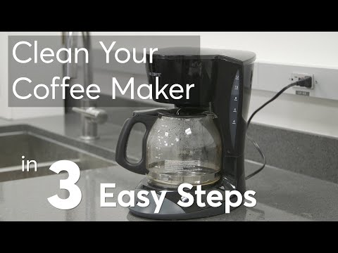 Clean Your Coffee Maker in 3 Easy Steps  | Consumer Reports