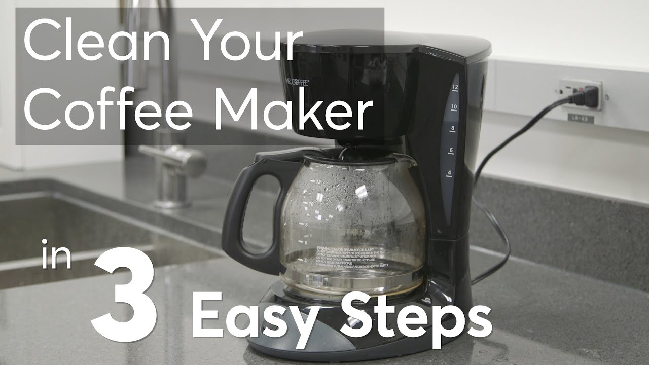 Clean Your Coffee Maker In 3 Easy Steps Consumer Reports You