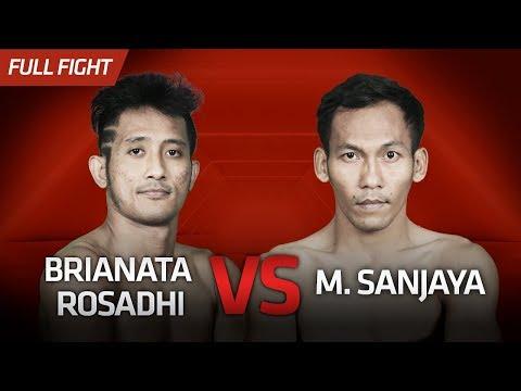 [HD] Brianata Rosadhi vs M. Sanjaya    One Pride Pro Never Quit #27