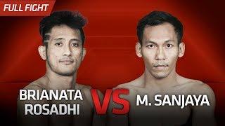 [HD] Brianata Rosadhi vs M. Sanjaya || One Pride Pro Never Quit #27