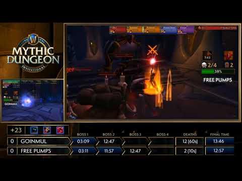 Asia-Pacific! MDI Mythic Dungeon Tournament 2018! Goinmul vs Free Pumps