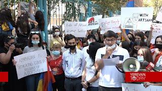 ՄԱԿ-ից պահանջում ենք հստակ գնահատական տալ և դատապարտել Ադրբեջանի ագրեսիվ պահվածքը․ ակցիա