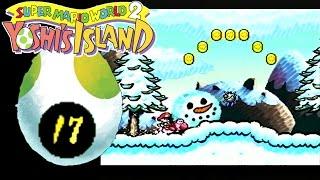 Let's Play Yoshi's Island (100%) [#17][German] Im Schnee spielen :D
