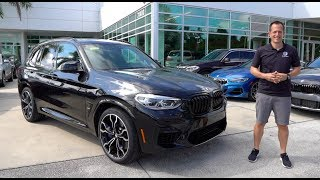 Does the 2020 BMW X3 M Competition have M3 performance in an SUV?