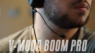 V-Moda BoomPro Unboxing & Mic Test!