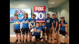 Fox News Coverage of the bike tour