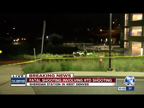 1 dead in shooting that involved RTD personnel, Denver police say
