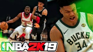 NBA 2K19 First Ever Gameplay Trailer – Take The Crown