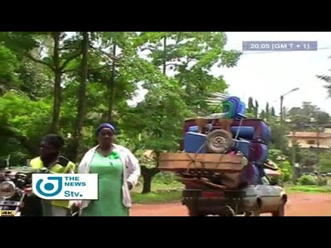 STV - THE 08:00 PM NEWS -(KUMBA : GUNSHOTS DRIVE INHABITANTS AWAY from HOME)- Tuesday 08th May 2018