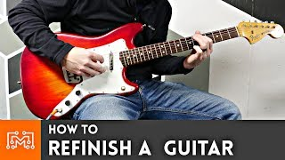 how-to-refinish-a-guitar