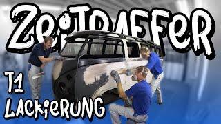 *Bonusmaterial* VW T1 Lackierung / Vorarbeiten! - Zeitraffer - | Philipp Kaess |