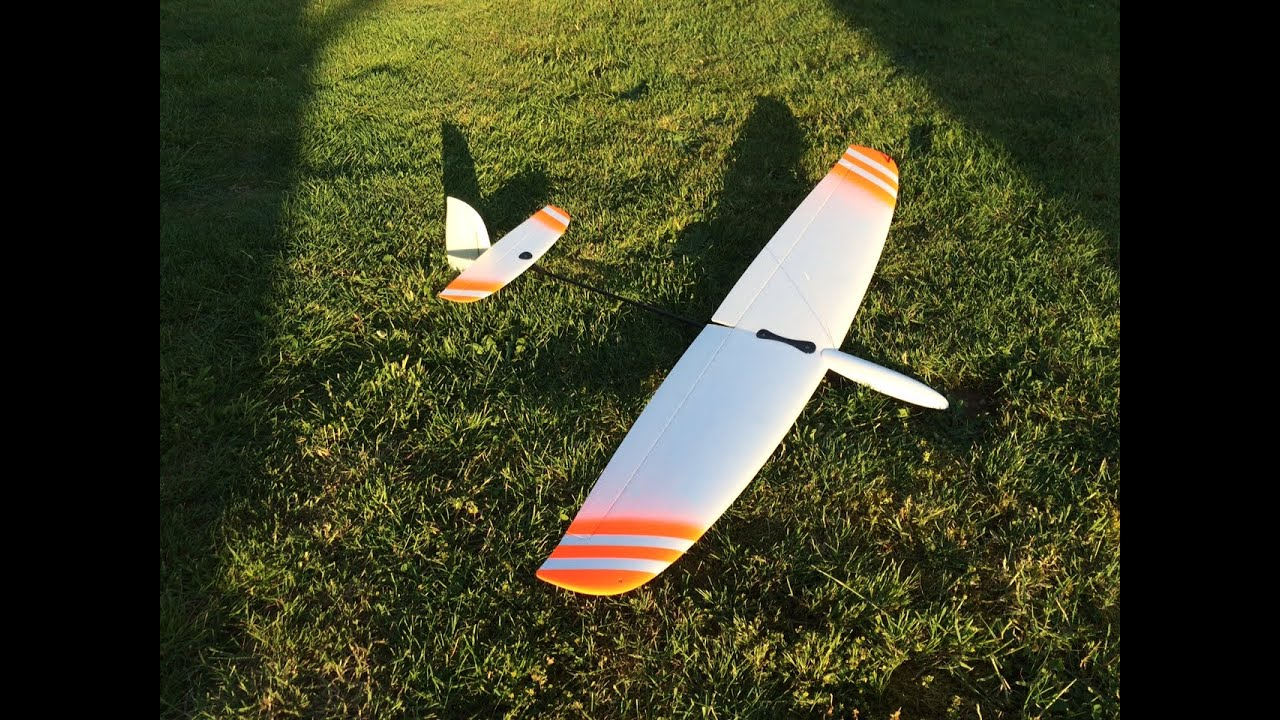 Dream-Flight Libelle DLG glider unboxing and first few flights