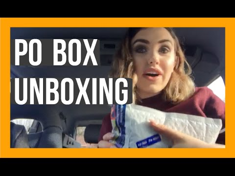 GETTING STUFF IN MY POX BOX!!!