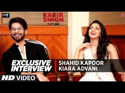 EXCLUSIVE INTERVIEW : Shahid Kapoor | Kiara Advani  | 'Kabir Singh'  | Movie In → Cinemas Now !