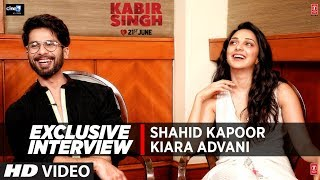 EXCLUSIVE INTERVIEW : Shahid Kapoor | Kiara Advani | 'Kabir Singh' | Movie In → Cinemas Now !