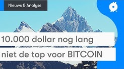 Bitcoin nieuws vandaag: 10.000 dollar is nog niet de top | Chainlink (LINK) vanaf nu op BLOX!