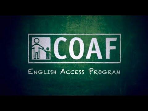 COAF English Access Program