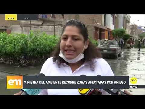 Así lucen los colegios afectados por el aniego en San Juan de Lurigancho