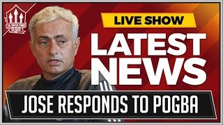 Jose Mourinho Press Conference Reaction | Pogba, Martial and Man Utd vs Brighton