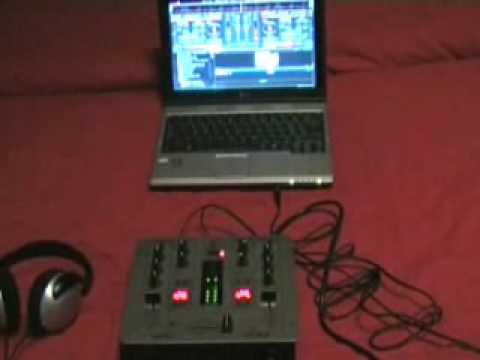 Run Virtual DJ with external Mixer - A cheap way of start Djing