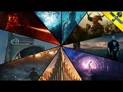 The Nine Realms of the MCU Explained