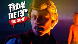 """""""HOOKED BY JASON!"""" - Friday the 13th Game with The Crew!"""