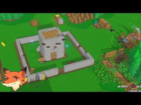 Live 20/08 - Castle Story  - Sur la nouvelle map ! Le cratère gigantesque !