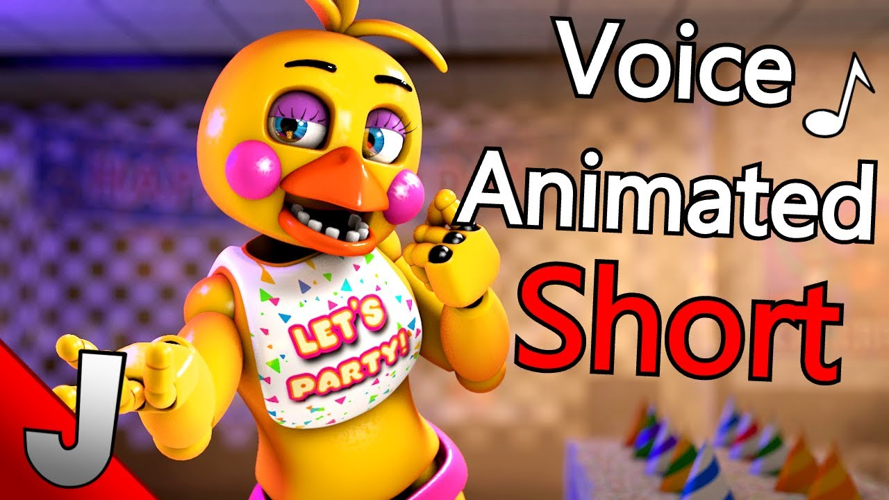 FNaF AR | Toy Chica Voice Line Animated | Short