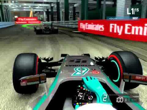 F1 2014 Singapore (Engine Sound mod)