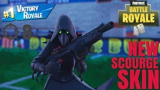 New Scourge Skin Gameplay Scuf Infinity 4ps Pro Controller Fortnite BR Season 6