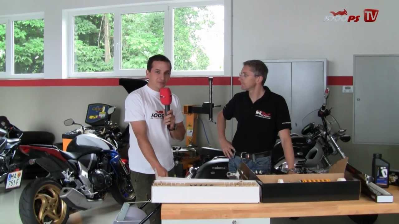 How to? Fahrwerk am Motorrad einstellen - Part 2