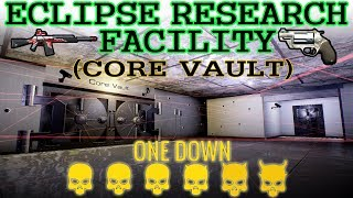 [Payday 2] Eclipse Research Facility (Core vault) - One Down *Solo* (No AI/Converts)