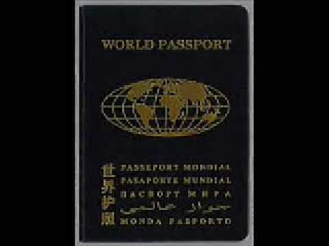 Wereldpaspoort - World Passport - Passeport Mondial