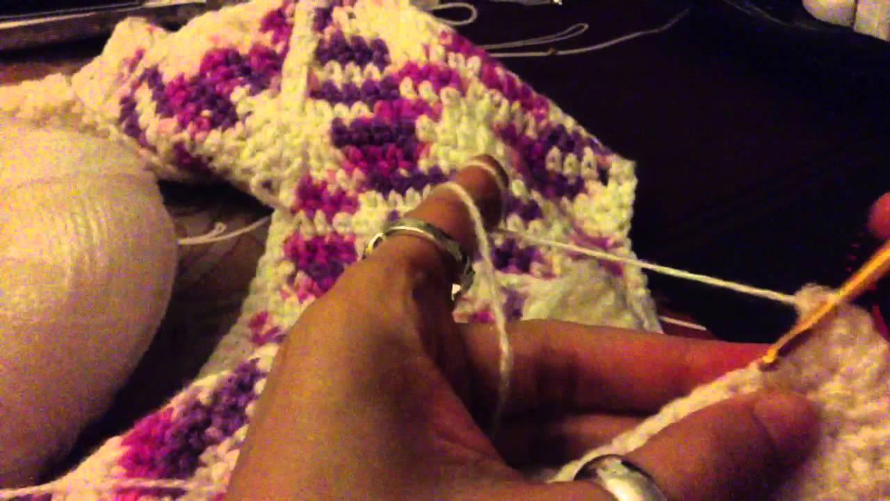 faire augmentations au crochet effectuer une augmentation astuce crochet youtube. Black Bedroom Furniture Sets. Home Design Ideas