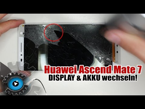 Huawei Ascend Mate 7 Display Wechseln Tauschen Reparieren [Deutsch/German]