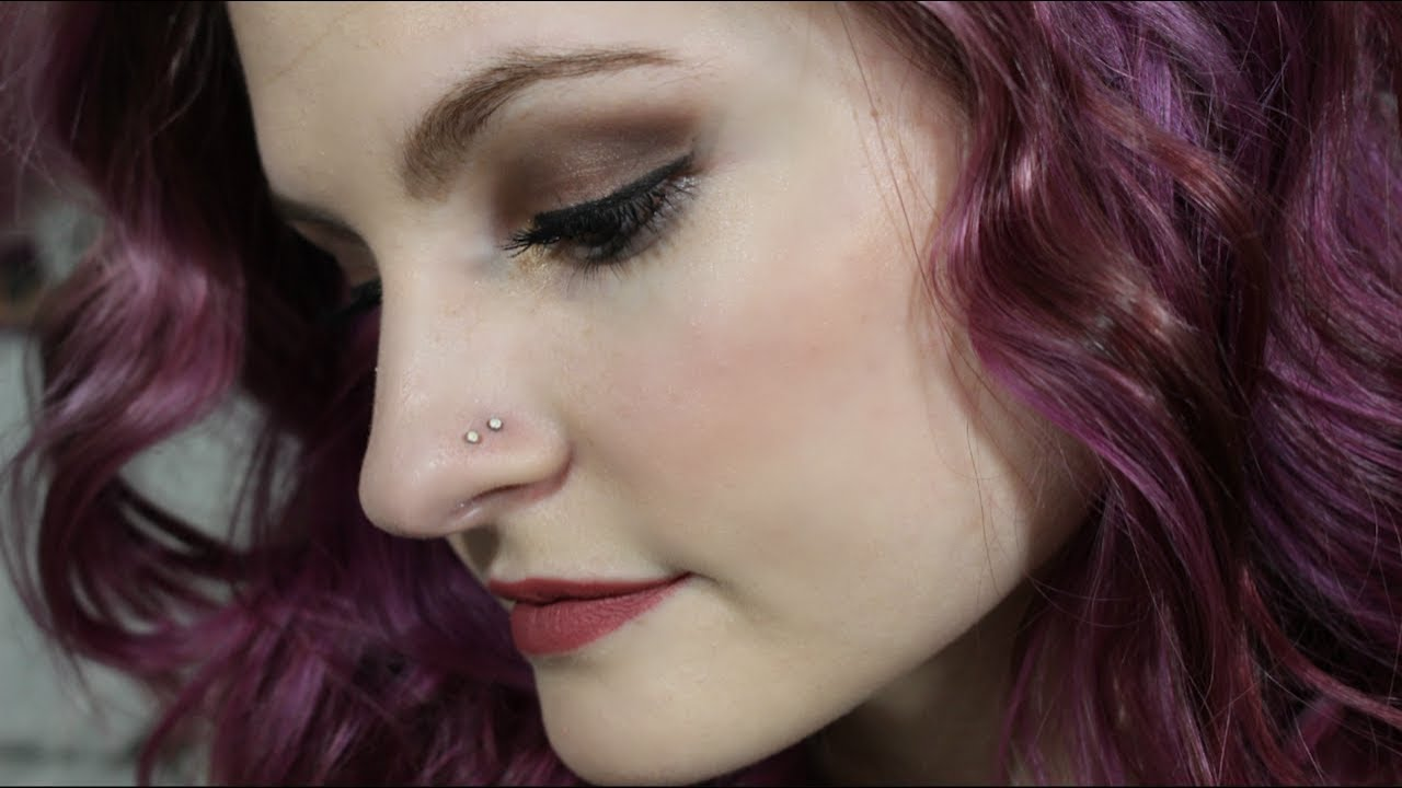 Double Nose Piercing At Home Alyssa Nicole Youtube